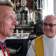 P. Josef Rosenast SAC ist auch Bruder-Klausen-Kaplan.