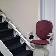 Le monte escalier et prêt à être utilsé