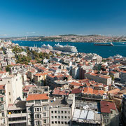Blick vom Galata-Turm