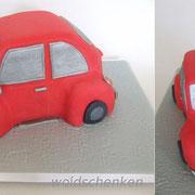 Motivtorte roter VW Käfer
