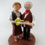 Tortenfiguren Ehepaar zum Jubiläum