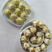 """CandyBar """"gelb"""" CakePops und MIni-Cupcakes"""