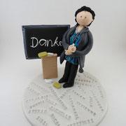 Tortenfigure Lehrerin
