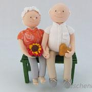 """Tortenfigur """"Goldene Hochzeit"""""""