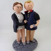 Tortenfiguren Ehepaar zum Geburtstag