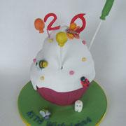 Motivtorte Giant Cupcake zum Kindergartengeburtstag