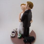 Tortenfigure Brautpaar