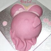 Torte Babybauch groß