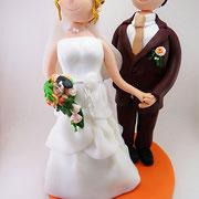Brautpaar XXL 22 cm