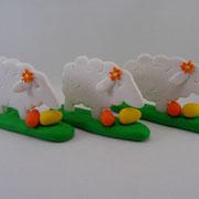 Tortenfiguren Schafe 2D