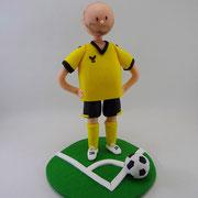 Tortenfigur Fußballer