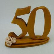 Tortenfigur Tortenaufsteller 50