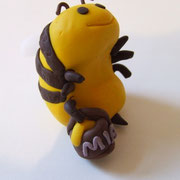 Tortenaufleger Biene mit Honigtopf