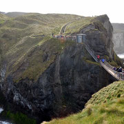 Carrick-a-Rede Rope Bridge, Nordirland
