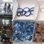 Recréation de bracelets celtes / archéologie expérimentale / journées du patrimoine / cerfav Pantin