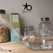 Carafe  / Agathe Rouy-Copier / verre soufllé au chalumeau - Strate Collège
