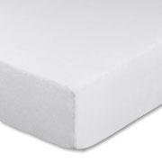 Split-Topper Spannbettlaken in hervorragender Passform und Qualität für unterschiedlich einstellbare Kopfteile, Farbe weiß