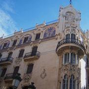 """das """"Gran Hotel"""" in Palma - Jugendstil vom Feinsten - erbaut 1901-03"""