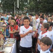Diego Alejandro Bernal, Trofeo al mejor jugador categoría Infantil 2014