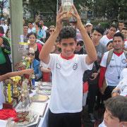 Eddy Alejandro Rey Bernal, Mejor jugador Categoría Juvenil