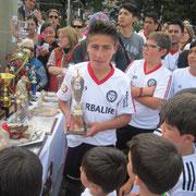 Harold Boada Vega, Mejor jugador de la Escuela año 2014