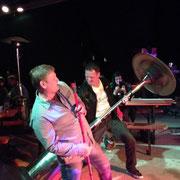 """20.09.2014 - die """"Kings of Air Guitar"""" Tschepp & Toaster in Action"""