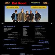 Die letzte Version der Rat Road Homepage im Dezember 2011