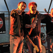 ...ooops, noch mit altem Logo, Privatfest in Bad Aibling, Mai 2011