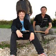 "September 2011, Rat Road Fotoshooting ""Tres Hombres"""