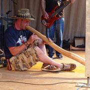 Didgeridoo Rock in Kössen 2015 mit Briggl Mascht