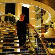 L'escalier de cristal ( Svarovski )