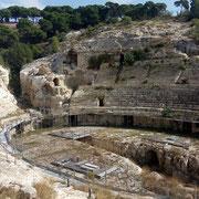 Кальяри, римский амфитеатр