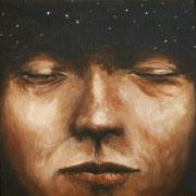 Sueño cósmico - 2016 Óleo s/ tela 30 x 30 cm