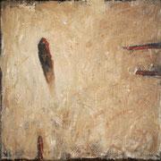 Emerge - Oil on canvas 22 x 22 cm 2021