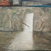 Movimiento - 2020 Óleo sobre tela 65 x 35 cm