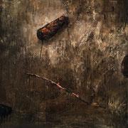 Passenger - Óleo sobre madera entelada Oil on canvas wood 42 x 46 cm 2021