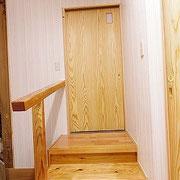 和室への扉。
