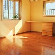 チャフウォールで塗られた部屋。