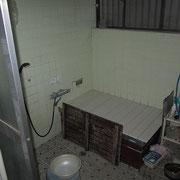 お風呂場です。
