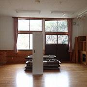 旧分校の1部屋です。