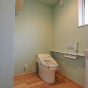 トイレも広いです。