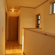 2階の廊下。