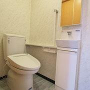 トイレはなかったので、新設しました。