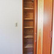 小さい収納もいくつか設けられています。