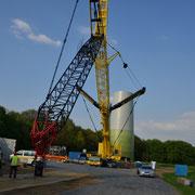 22.o4.2o14 Neubau 3 MW Windrad Haard