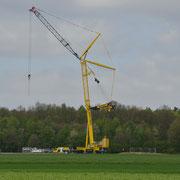 13.o4.2o14 Neubau 3 MW Windrad Haard