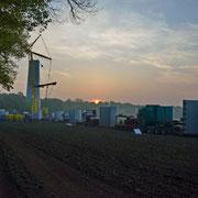 25.o4.2o14 Neubau 3 MW Windrad Haard