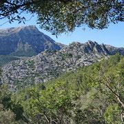 Berge der Nordinsel Mallorcas