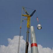 3o.o4.2o14 Neubau 3 MW Windrad Haard