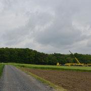 o8.o5.2o14 Neubau 3 MW Windrad Haard